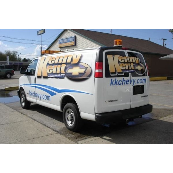 PART023 - Custom Partial Wrap for Auto Dealerships & Services