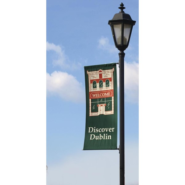 PB024 - Custom Boulevard Banner for Government