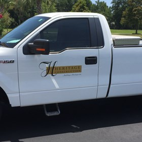 Heritage Construction Truck Decal